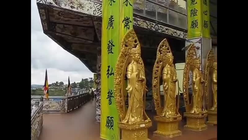 Нячанг Далат Храм Линь Фуок