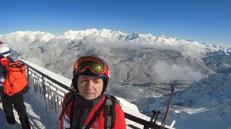 Смотровая площадка Роза Пик 2320 метров 15 градусов