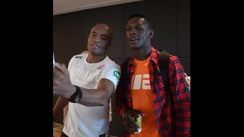 Исраэль и Андерсон Силва (UFC234)