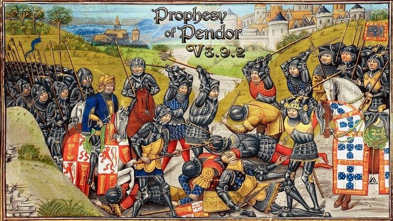 M B Warband PROPHESY OF PENDOR 3 9 2 114 Великий полководец