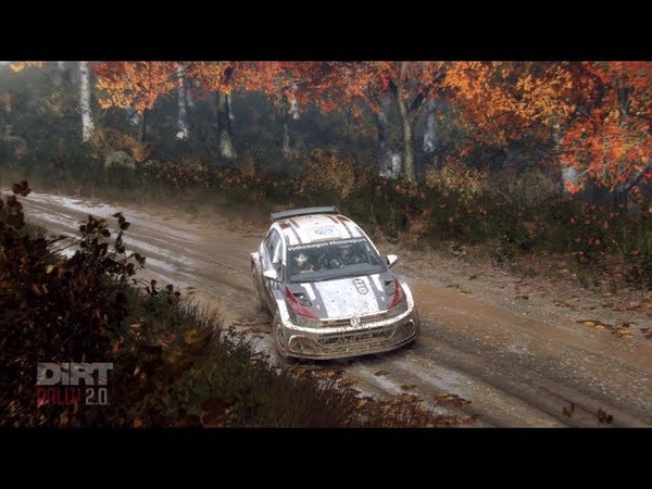 Dirt Rally 2.0 Deluxe Edition VW Polo на руле