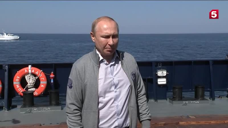 Путин опогружении кПЛ«Щука»