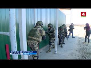 Зачистка здания от террористов, ночные стрельбы и технология управления военной техникой