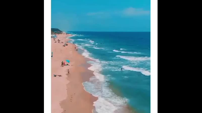 ВЫ ЗНАЛИ О ТАКОМ ПЛЯЖЕ В РОССИИ  ️ ️⠀БУГАЗСКАЯ КОСА -рай для сёрфинга  ️любителей у.mp4