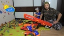 Домашние сражения игрушек ↑ Военные солдатики, нёрфы, испытание бластеров ↑ Обзор игрушек