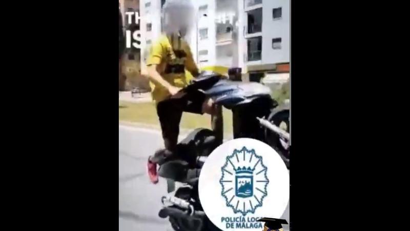 SE GRABA CONDUCIENDO DE FORMA TEMERARIA EN MÁLAGA