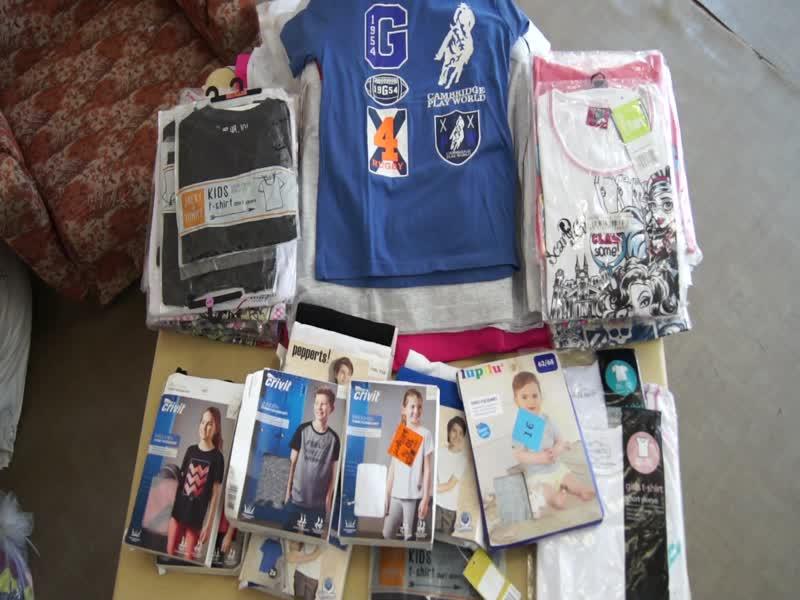 KIDS T-SHIRTS NEW!!!!Детские футболки,мешки 11-13 кг,стоимость 1 кг=1400 руб, с/с~130-135 рублей!