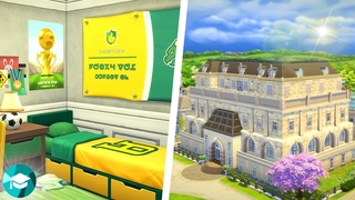 Renovating the ENTIRE Britechester Student Dorm Hall ~ The Sims 4 Discover University Speed Build