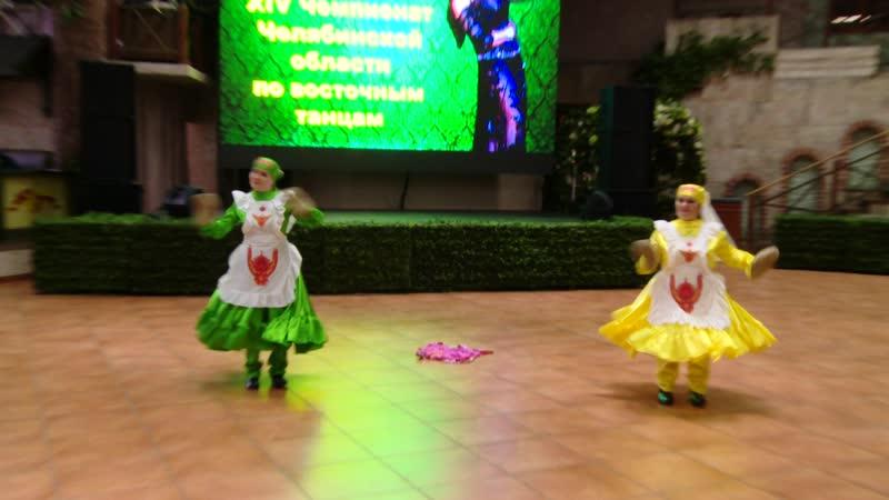 1 МЕСТО дуэт Юлия Хамзина,Гузель Акрамова танцы народов мира