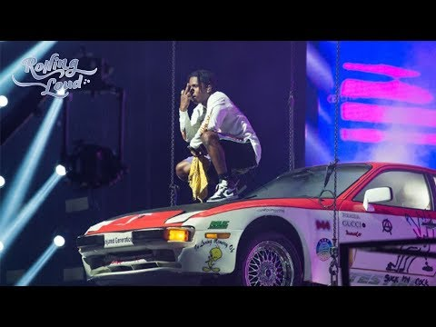 A$AP Rocky☢️☢️ Rolling Loud Full Set New York 2019 PERFORMS ON TOP OF A CAR ASAP MOB