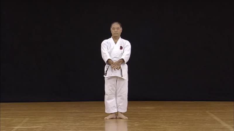 Suparinpei by Sensei Morio Higaonna Okinawa Goju ryu. 東恩納盛男先生 演武 スーパーリンペイ