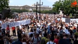 Самый мощный митинг в Хабаровске в поддержку Сергея Фургала / LIVE
