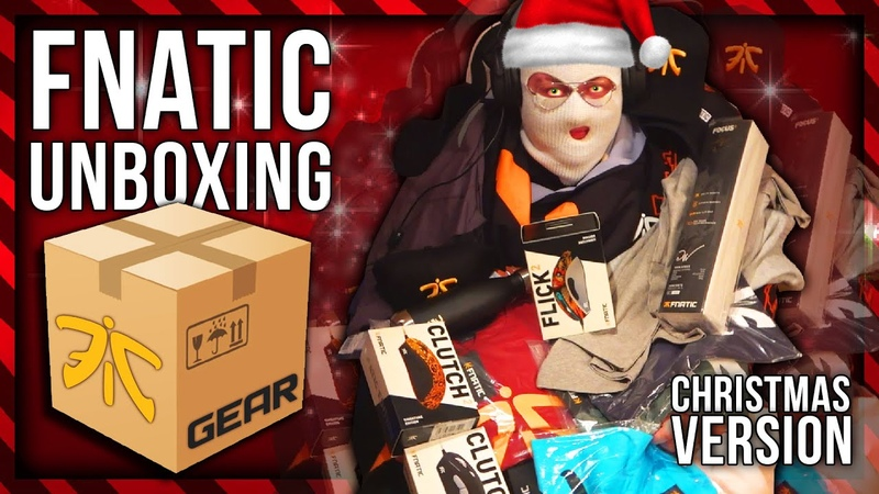 CHRISTMAS FNATIC UNBOXING WITH PAPANOMALY