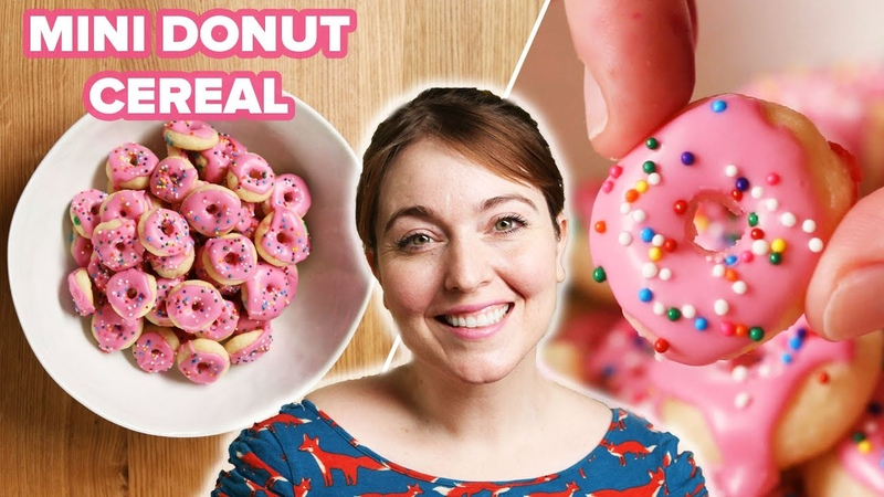 I Tried To Make Mini Donut Cereal Tasty
