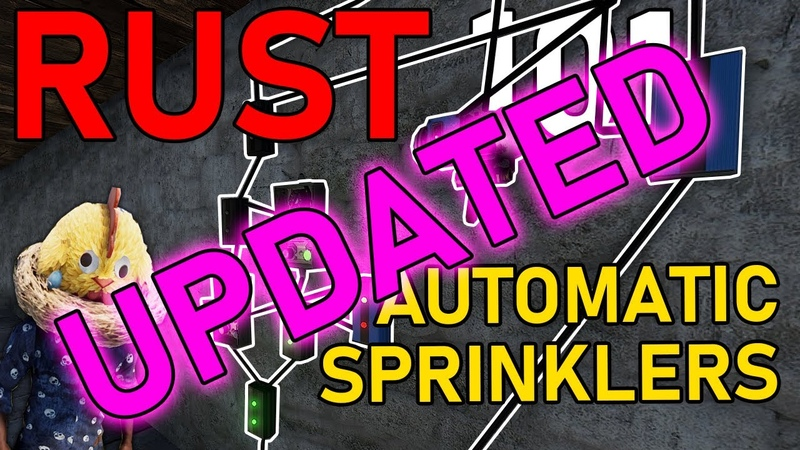 RUST 101 Farming 2.0 - Automatic Sprinklers (Updated for May patch changes)