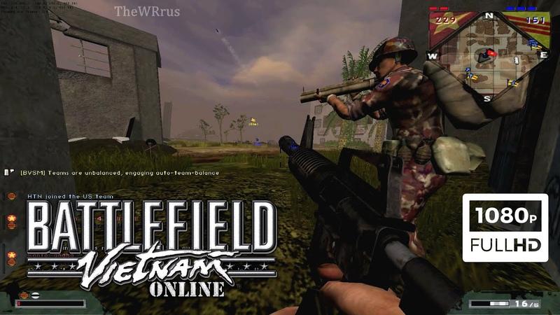 Battlefield Vietnam Multiplayer | 2019.12.02 | Quang Tri - 1972 Gameplay