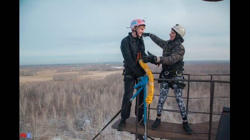 Aleksandr V. прыжок FreeFallProX команда ProX74 объект AT53 Chelyabinsk 2019 3 jump RopeJumping