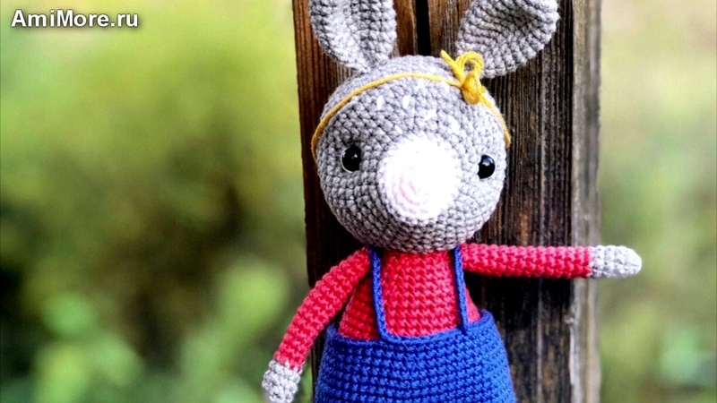 Амигуруми схема Зайчонок. Игрушки вязаные крючком - Free crochet patterns.