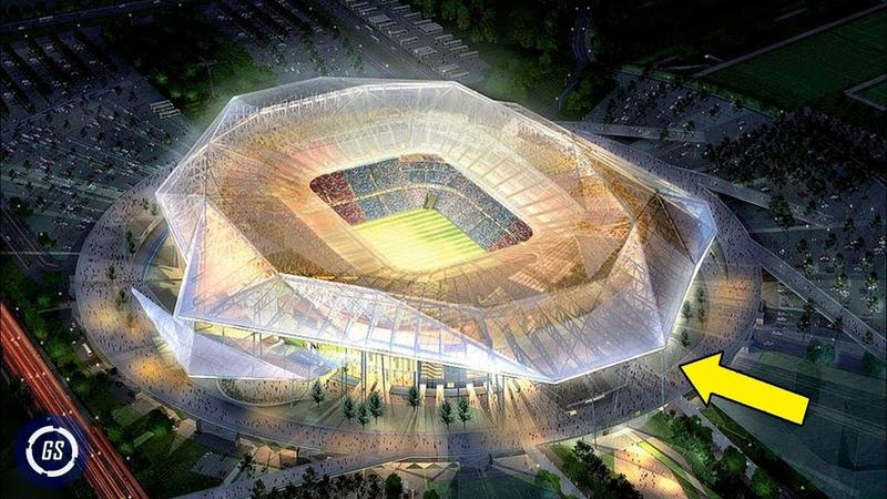 8 Increíbles Estadios del Mundial QATAR 2022 Construcciones Asombrosas