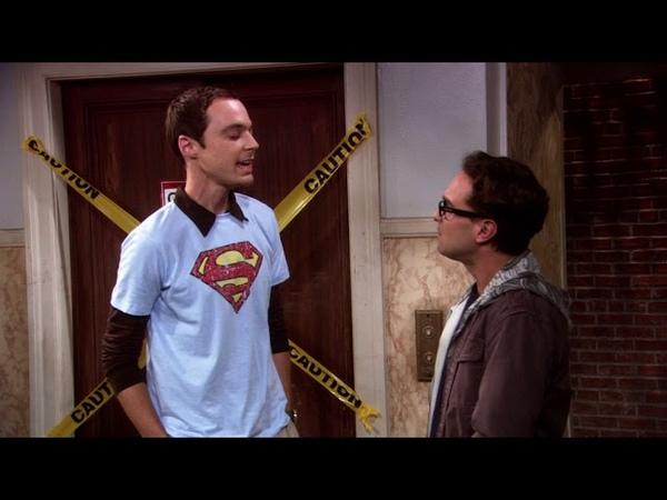 Шелдон про супермена и научные ляпы в фильме Теория большого взрыва