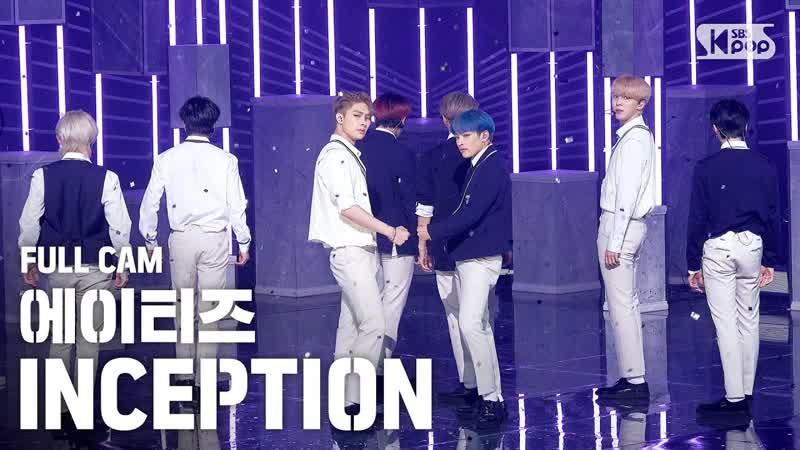 200802 안방1열 직캠4K 에이티즈 'INCEPTION' 풀캠 ATEEZ Full Cam │@ SBS Inkigayo