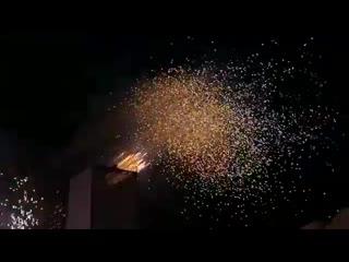 Огненное шоу Алтайская зимовка (Barnaul22)