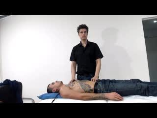 Пример лечения желудка через коррекцию грудного отдела позвоночника