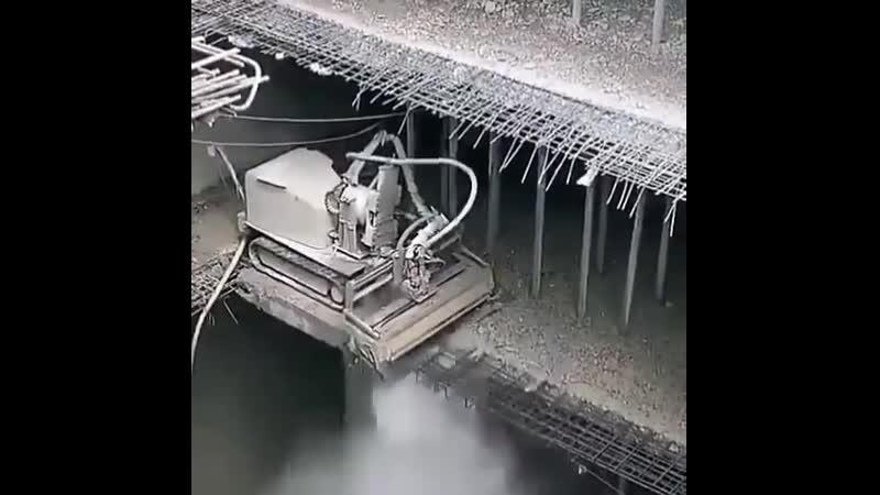 Процесс сноса бетонных плит водой 🔥🔥🔥 svoimi rukami gif