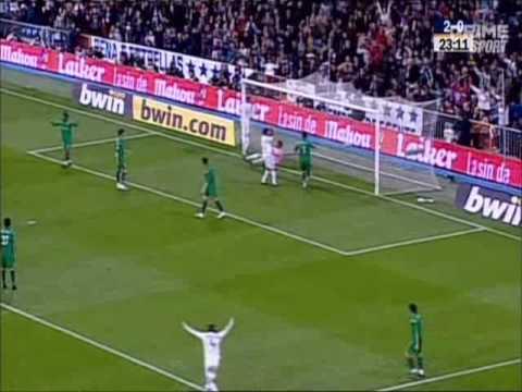 Реал Мадрид 6-1 Реал Бетис. Чемпионат Испании 2008-2009. 24 тур