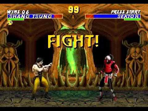 Mortal Kombat 3 - Shang Tsung (sega Genesis) (By Sting)