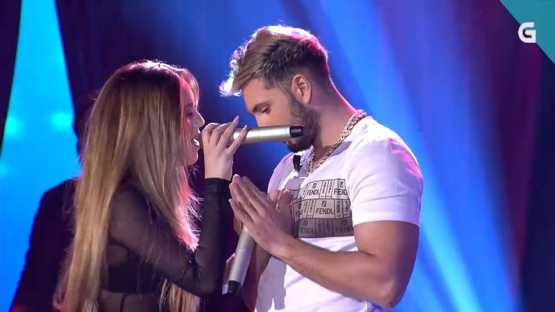 Ana Mena Omar Montes Como el Agua Remix Luar TVG Bamboleo Live 2020