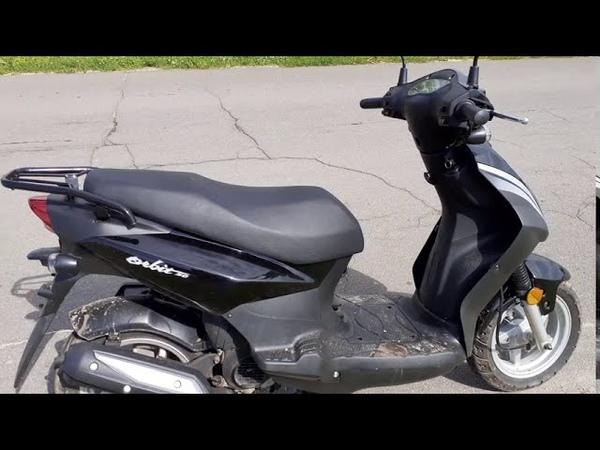 Sym ORBIT 50 скутер Обкатка Sym ORBIT 50 4t Унеча Стародуб