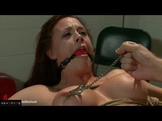 James Deen & Chanel Preston [ Bdsm &  Redhead &  Blow job / Butt plug , crumpet , Bondage , Shaved , Cum on face , Ass]
