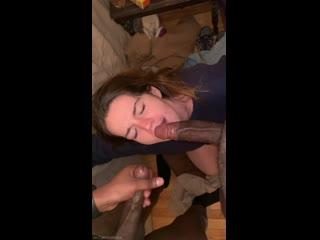 Cum on face (cumshot sperm blowjob amateur bbc blacked interracial ir swallow deepthroat group gangbang threesome sexwife porn)