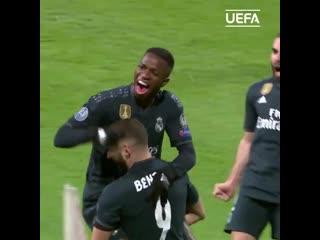 Лучшие моменты Винисиуса Жуниора в Лиге чемпионов