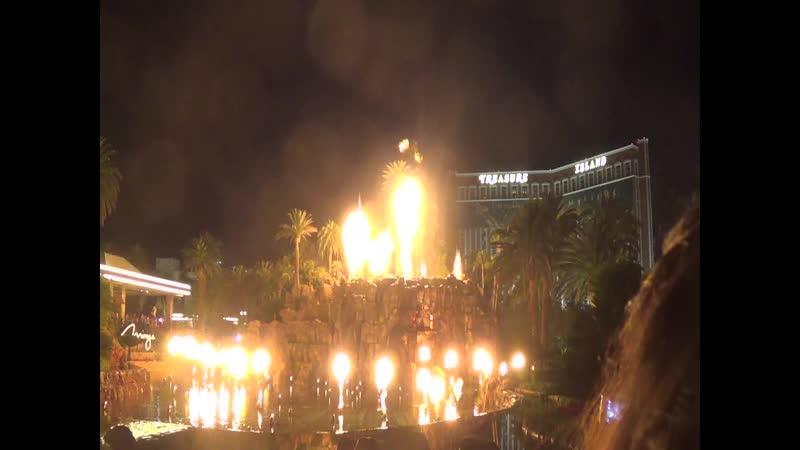 Лас Вегас (119) Пляшущие фонтаны Лас Вегаса