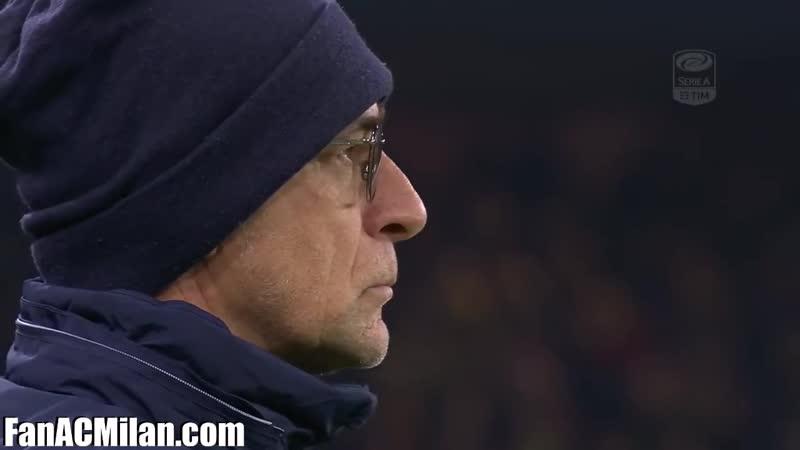 28 тур Дженоа 0-1 Милан (11.03.2018)