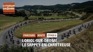 Critérium du Dauphiné 2021 - Découvrez l'étape 6