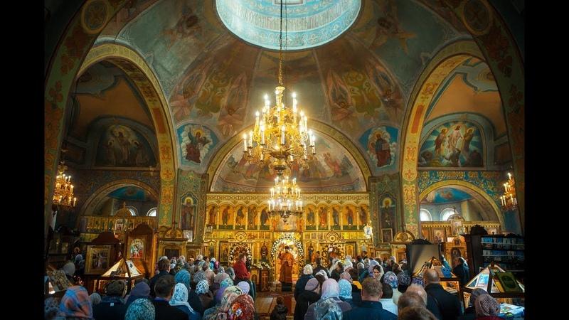 Престольный праздник Иоанна Богослова отметили на этой неделе