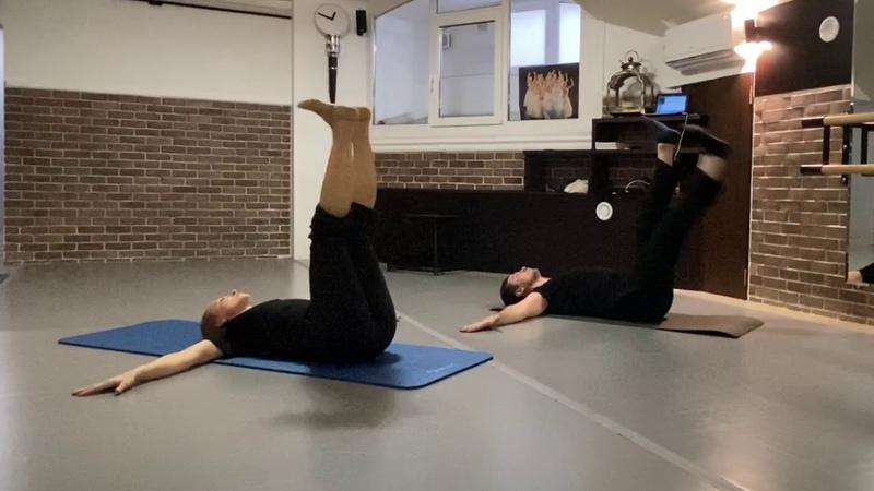 Партерная гимнастика Часть 3