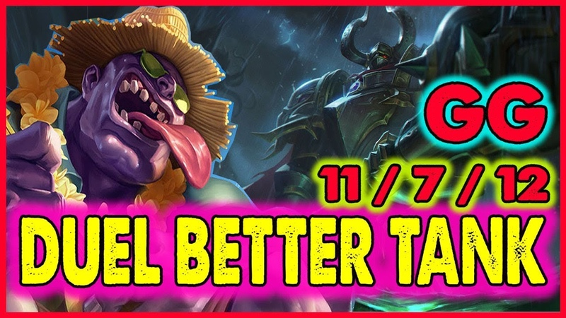 PERFECT TANK BUILD FOR TOP LANE AND CARRY TEAM FOR VICTORY - League Of Legends Dr Mundo