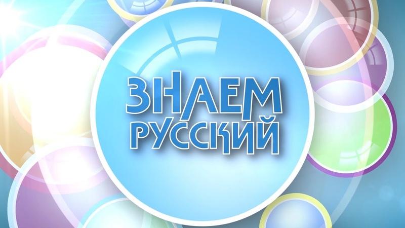 Знаем русский 25.11.2019. Бестолковый.