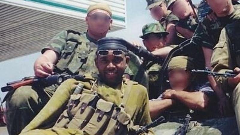 Русский афроамериканец на Чеченской войне
