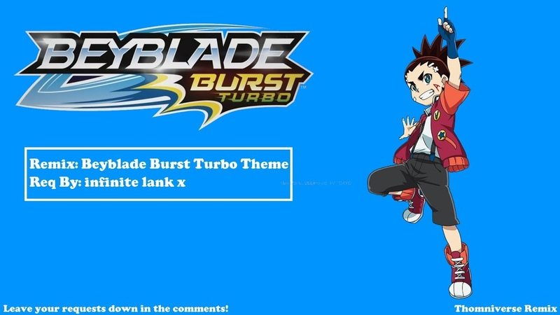 Beyblade Burst Turbo - Main Theme Remix
