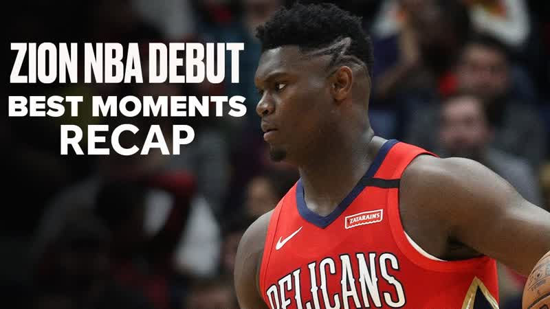 Zion Williamson Puts On A 4Q Show In NBA Debut _ Highlights