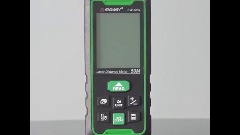 GVDA New Arrive SNDWAY Green Beam Laser Distance meter!