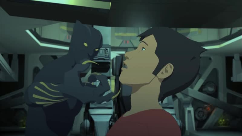 Железный Человек Приключения в Броне 1 Сезон 15 Серия Добыча Пантеры