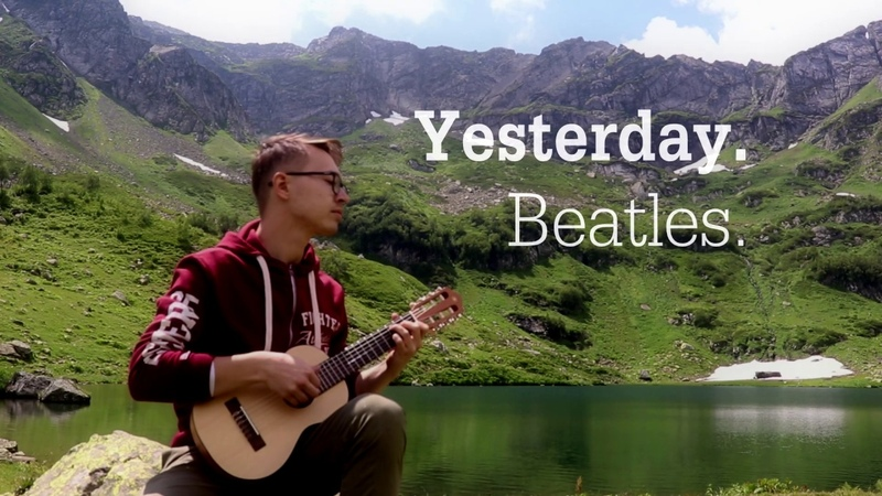 Yesterday Beatles Live on Mzi Lake guitar cover by Изибаев Евгений