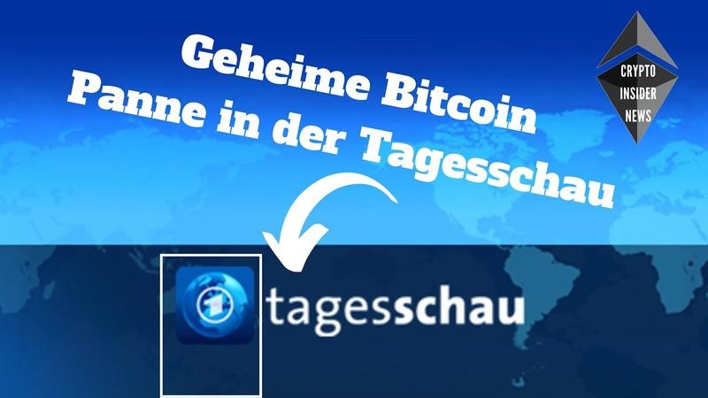 Tagesschau Panne Mikrofon an Jan Hofer über Bitcoins Bitclub Exit Scam Craig Wright verurteilt