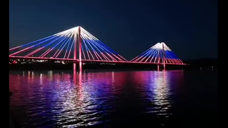 Красноярск отметил день флага 🇷🇺 ура
